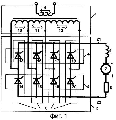 Способ управления зависимым инвертором однофазного переменного тока