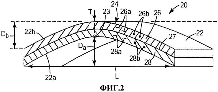 Формованное слоеное нетканое полотно, содержащее частицы