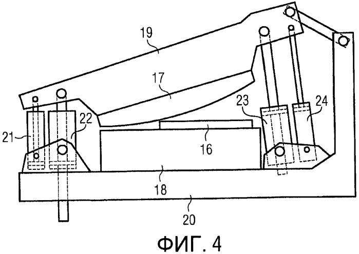 Резательная установка с комбинированным рабочим усилием