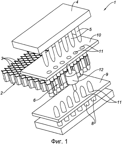 Способ соединения ячеистых звукопоглощающих панелей