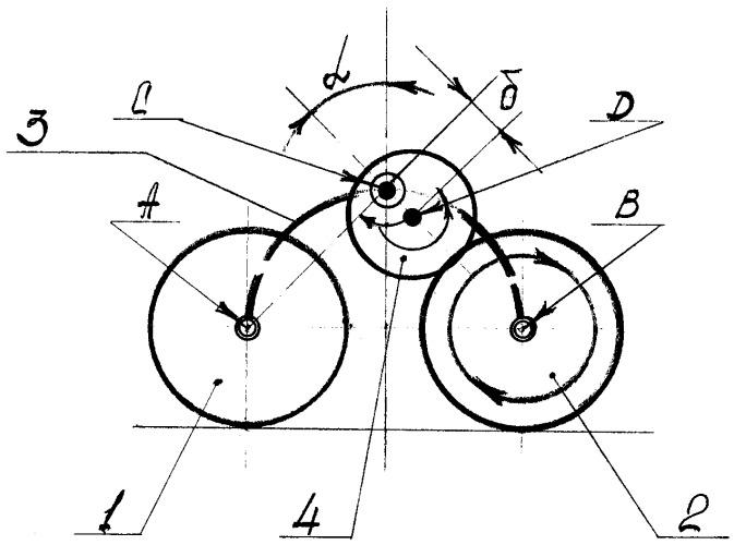 Способ передачи крутящего момента ведущему колесу шасси