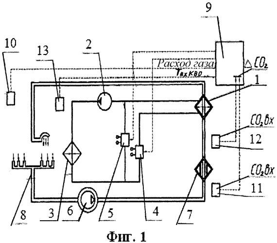 Устройство автоматического регулирования температуры в скафандре для работы в открытом космосе