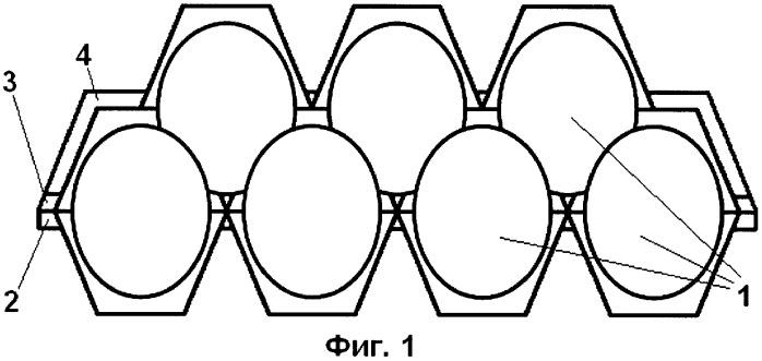 Формованная упаковка для хранения, транспортировки и продажи яиц