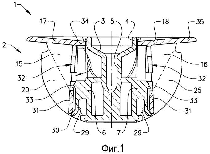 Торцевая пробка для рулона бумаги