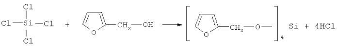 Способ получения кремнийфурансодержащего мономера