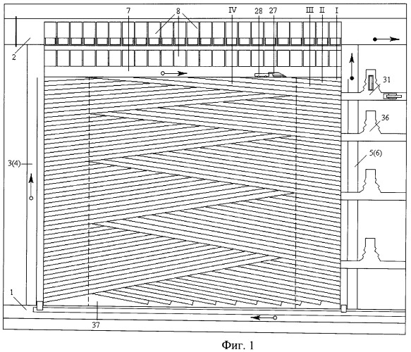 Способ слоевой разработки мощного крутонаклонного угольного пласта