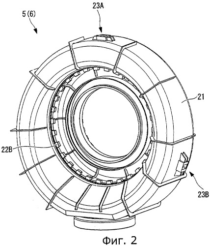 Улиточный направляющий аппарат и соответствующая турбина