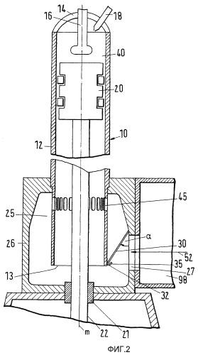 Двухтактный дизельный двигатель внутреннего сгорания