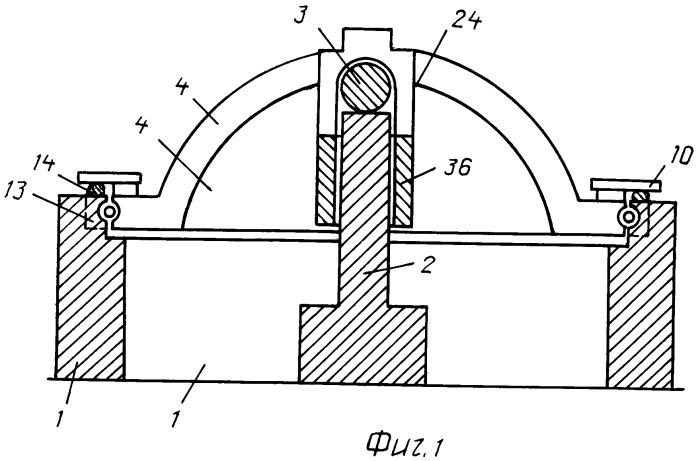 Вращательно-толкательный двигатель внутреннего сгорания