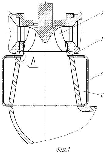 Устройство для повышения устойчивости работы радиально-осевой гидротурбины (варианты)