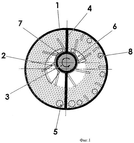 Шламовый насос реактора для одновременного перекачивания твердых веществ, жидкостей, паров и газов