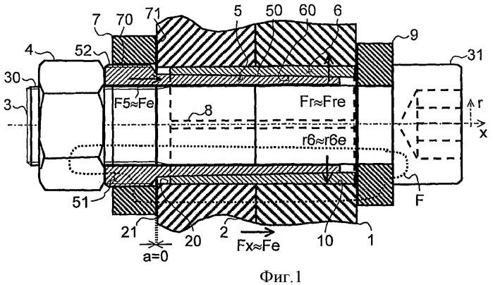 Соединительная система и способ соединения, в частности, со всесторонним силовым замыканием