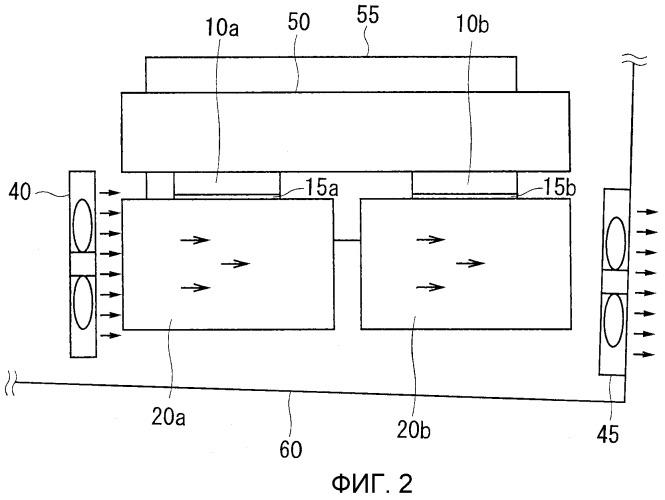 Устройство источника света и устройство отображения изображений проекторного типа