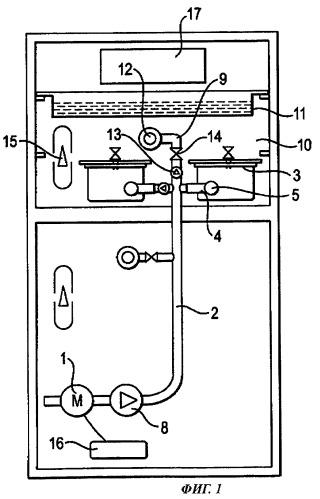 Вакуумная система хранения и способ управления системой