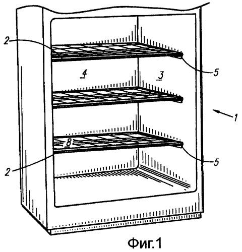 Светодиодное осветительное устройство для полок холодильника