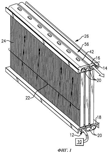 Теплообменник, многокамерный коллектор и способ изготовления этого коллектора