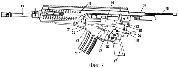 Огнестрельное оружие с упрощенной разборкой