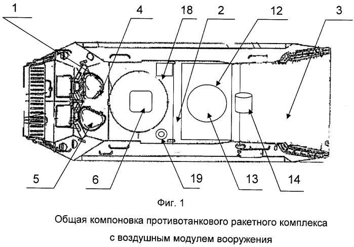 Противотанковый ракетный комплекс с воздушным модулем вооружения