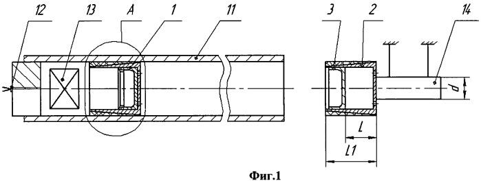 Способ нагружения объекта двумя последовательными импульсами сжатия и ударник для его реализации