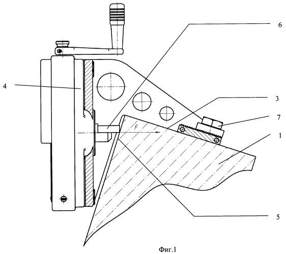 Способ определения прочности бетона методом скалывания ребра