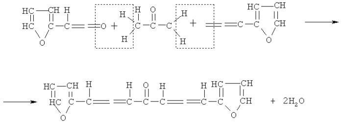 Способ определения содержания свободного ацетона в клееных древесных материалах на основе фурановой смолы