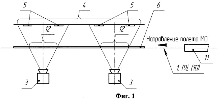 Способ бесконтактного определения скорости метаемого объекта