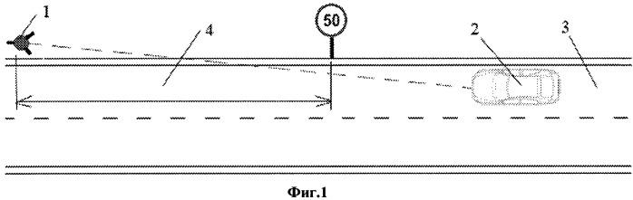 Способ определения расстояния от видеокамеры измерителя скорости до транспортного средства (варианты)