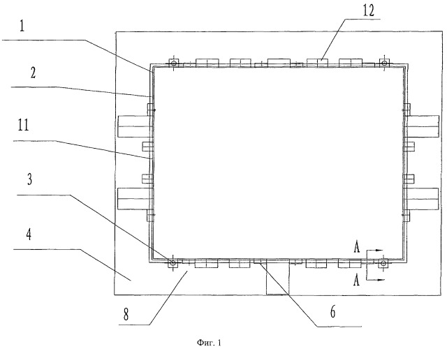 Способ и конструкция для увеличения площади контакта