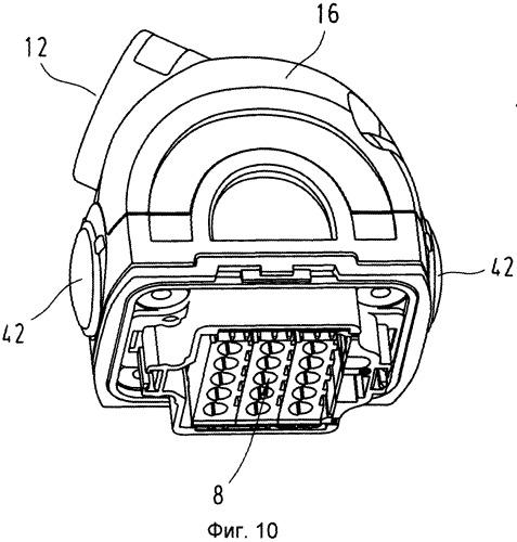 Системный штепсельный соединитель с переходным модулем