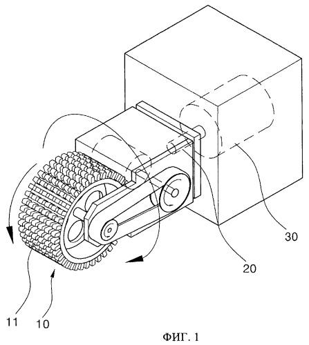 Способ заострения щетинок зубной щетки методом механической обработки