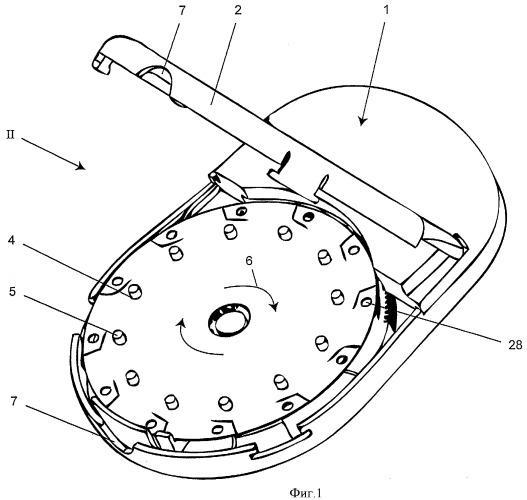 Контейнер для множества отдельных доз, а также вспомогательное устройство для указанного контейнера