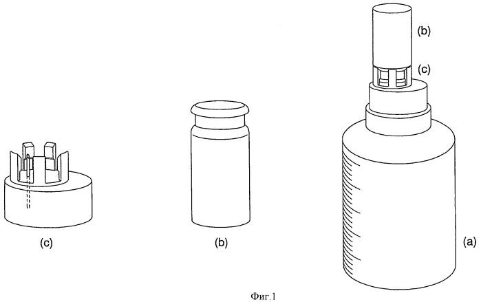Упаковка с фармацевтической композицией и комплект для внутривенного введения