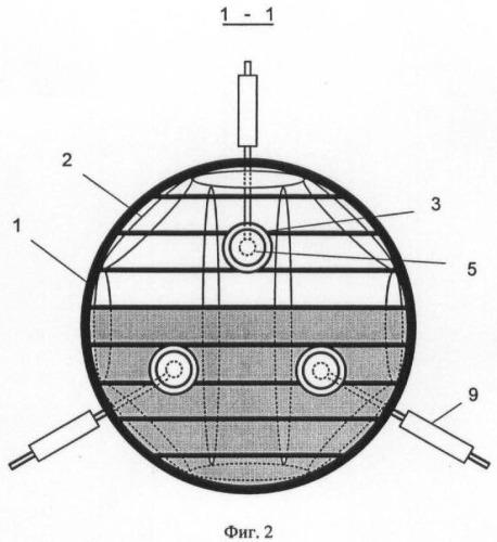 Устройство для тушения горючих жидкостей в вертикальном резервуаре с плавающей крышей или понтоном
