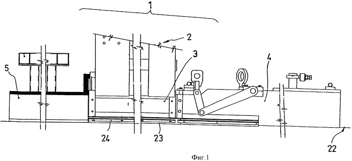 Усовершенствования машин для непрерывного изготовления деталей из преднапряженного бетона или железобетона