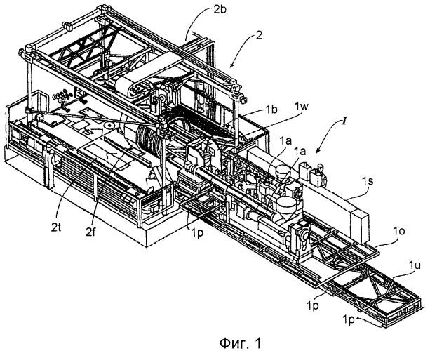Устройство для изготовления гофрированных труб из термопластмассы