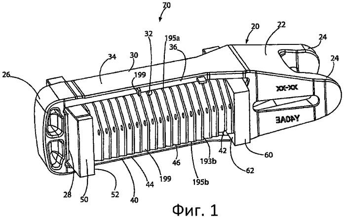Узел поглощающего аппарата для железнодорожных транспортных средств (варианты)