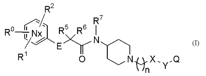 Производные с азотсодержащим шестичленным ароматическим кольцом и содержащие их фармацевтические продукты