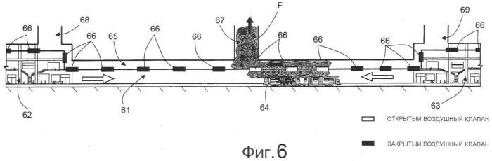 Система вентиляции для железнодорожных тоннелей