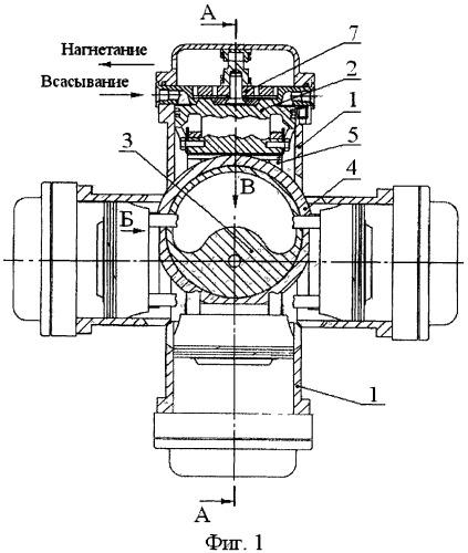 Поршневой компрессор с бесшатунным механизмом
