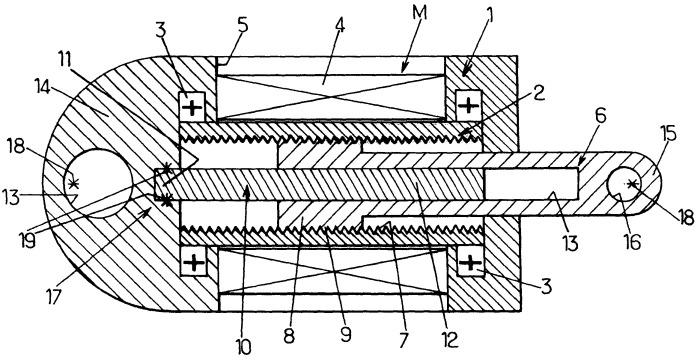 Способ контроля эффективности работы электромеханического привода роторно-линейного типа
