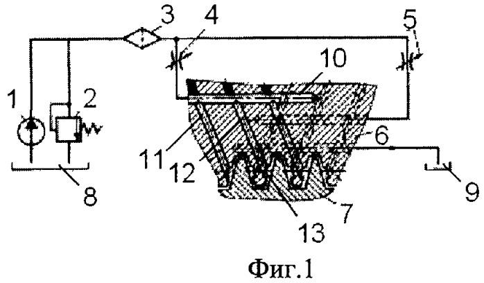 Передача ходовой винт-гайка с вихревым соплом