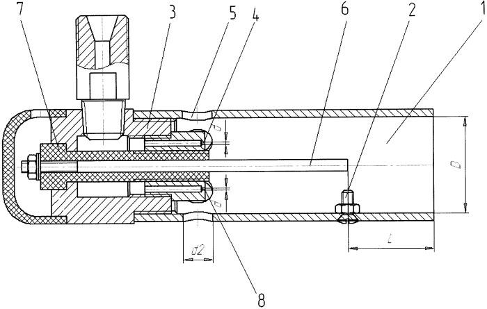 Горелка газовоздушная инжекционная для поджига газокислородных машинных резаков