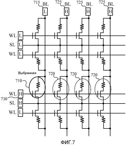 Операция записи для магниторезистивного оперативного запоминающего устройства с переносом спинового момента с уменьшенным размером ячейки бита