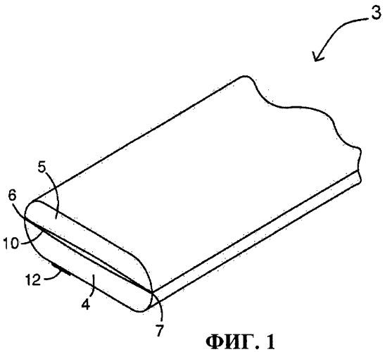 Защитная лента полимерной пленки с внутренней воздушной прослойкой полостного типа