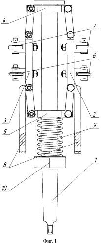 Инструментальная головка для электромеханического упрочнения гильз цилиндров