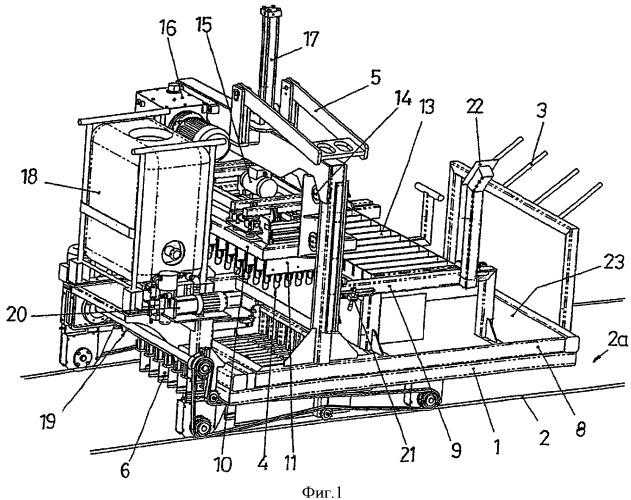 Усовершенствования, сделанные для устройств, предназначенных для забивки арматурных хомутов в балки и подобные детали