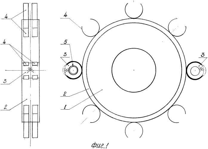 Колесо со сменным протектором - бесконечной гусеницей