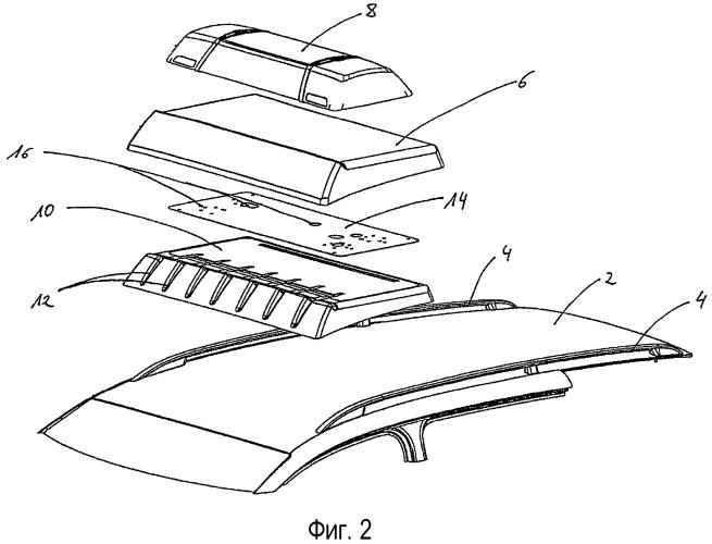 Надстройка для крыши автомобиля