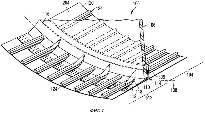 Герметическая перегородка и способ для разделения внутреннего пространства воздушного или космического судна