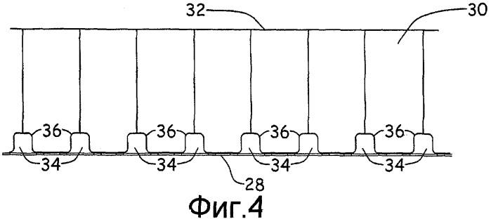 Покрытие для акустической обработки, включающее функцию обработки наледи горячим воздухом